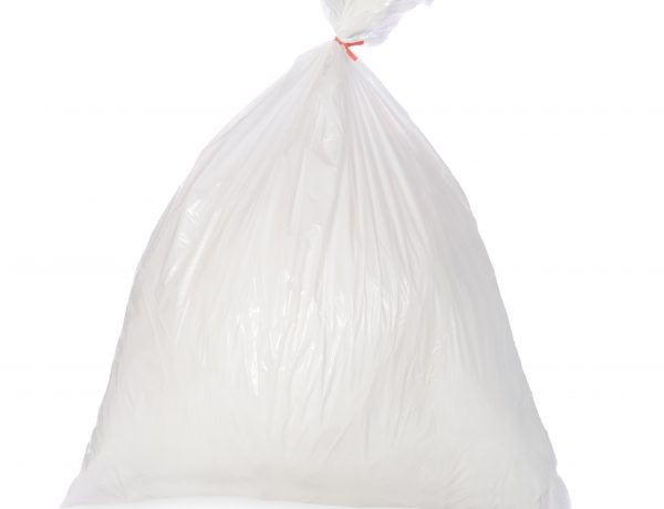 White Dustbin Bags