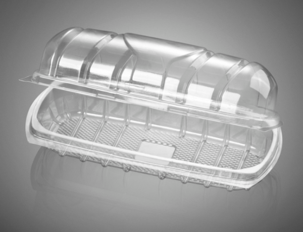 Sandwich Containers - Clear